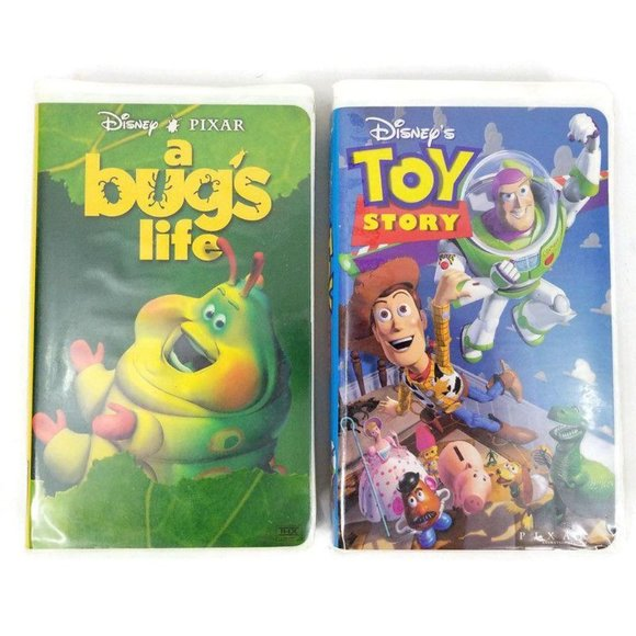 Disney Other Toy Story A Bugs Life Pixar Vhs Tape Movie Poshmark
